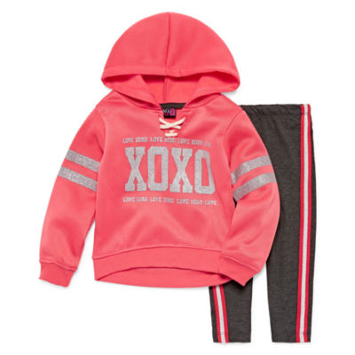 Xoxo 2-pc. Legging Set-Toddler Girls