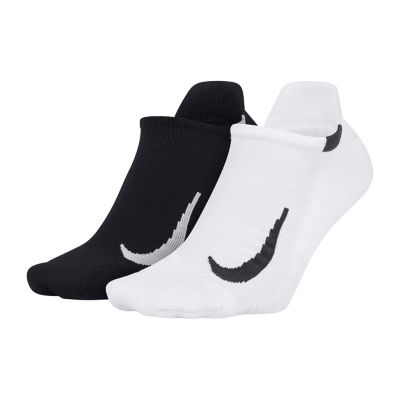 Nike 2 Pair Performance No Show Socks - Extended Size