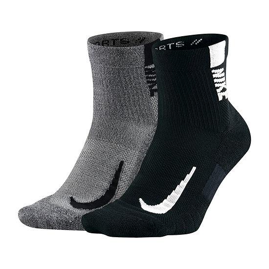 Nike 2 Pair Performance Ankle Socks