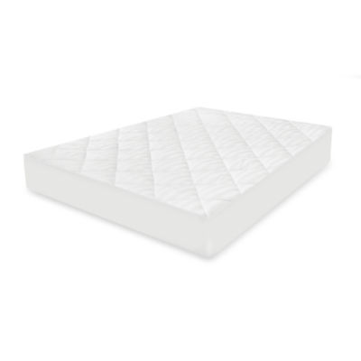 Restonic 400 Thread Count Striped Deep Pocket Mattress Pad