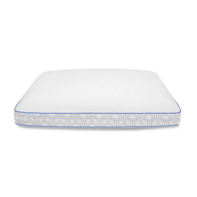 Sensorpedic Cool Coat Gel-Infused Performance Memory Foam Medium Pillow