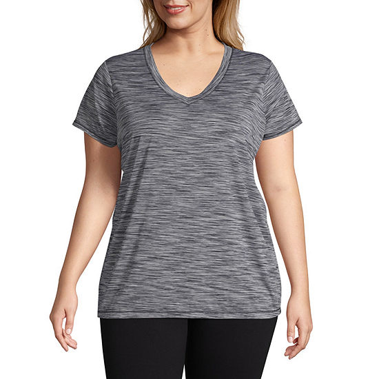 Xersion Short Sleeve Active Tee - Plus