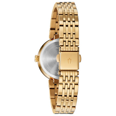 Bulova Womens Gold Tone Watch Boxed Set-98x122