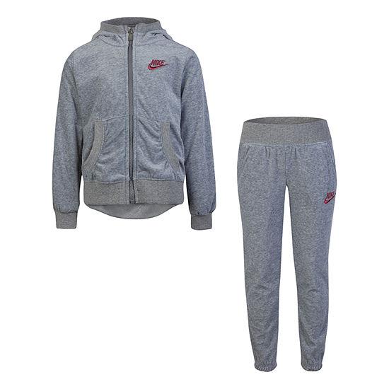 Nike Little Kid Girls 2-pc. Pant Set