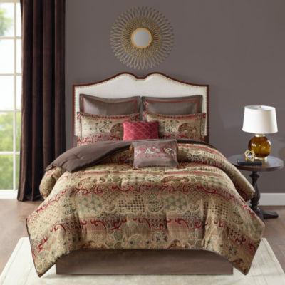 Madison Park Wyeth 8-pc. Jacquard Comforter Set