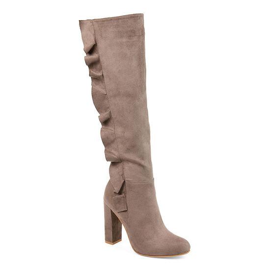 Journee Collection Womens Vivian Dress Boots Block Heel