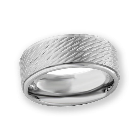 9 Mm Stainless Steel Wedding Band