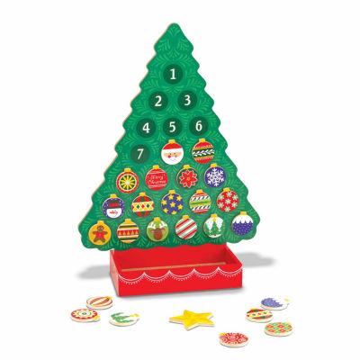 Melissa & Doug® Countdown to Christmas Wooden Advent Calendar