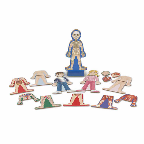 Melissa & Doug® Magnetic Human Body Play Set