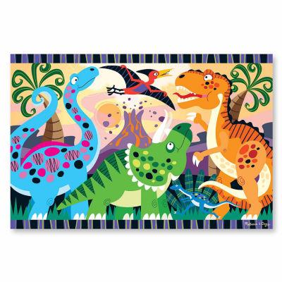 Melissa & Doug Dinosaur Dawn Floor Puzzle (24 pc)