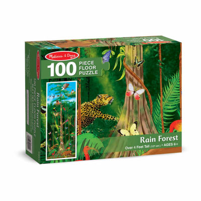 Melissa & Doug® Rain Forest Floor (100 pc)