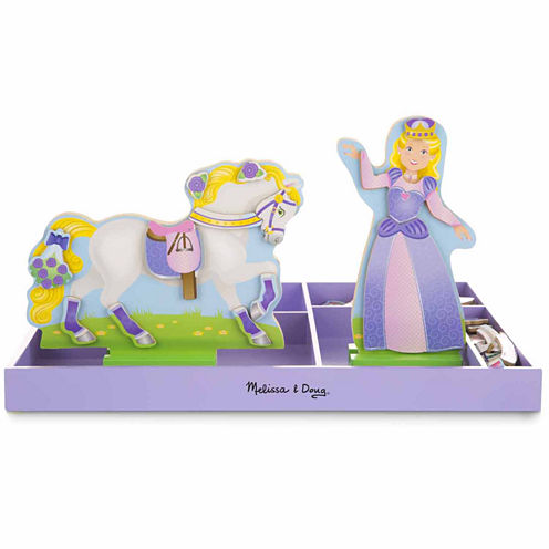 Melissa & Doug® Lila & Lucky Magnetic Dress-Up Set