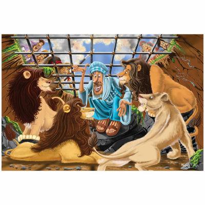 Melissa & Doug® Daniel & The Lion's Den Floor Puzzle
