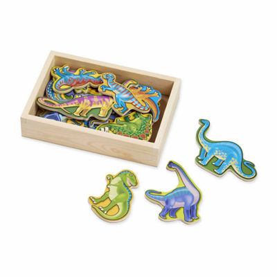 Melissa & Doug® Magnetic Animals & Dinosaurs Bundle