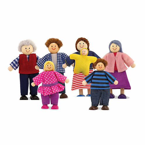Melissa & Doug® Doll Family