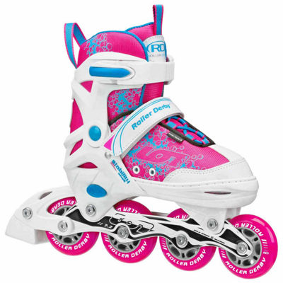 Roller Derby Ion 7.2 Adjustable Inline Skates - Girls