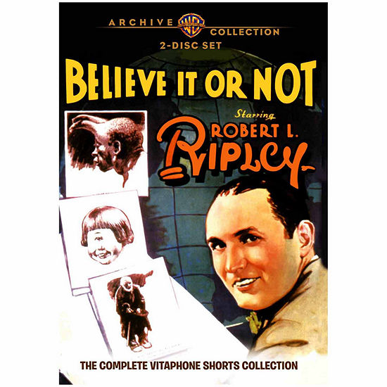 Ripley's Believe It Or Not: The Complete Vitaphone Shorts Collection 1930-1932 - 2 Discs - DVD