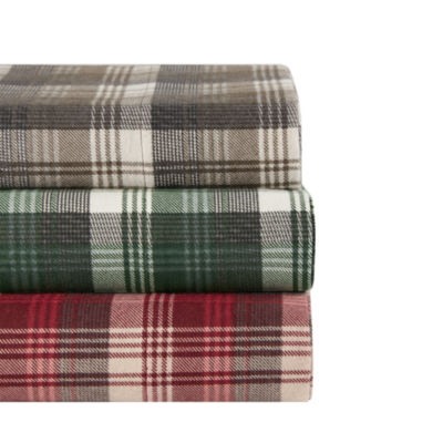 Woolrich Tasha Flannel Easy Care Sheet Set Jcpenney