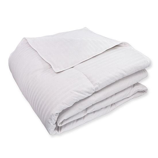 St. James Home All Season Cotton White Duck Down Comforter