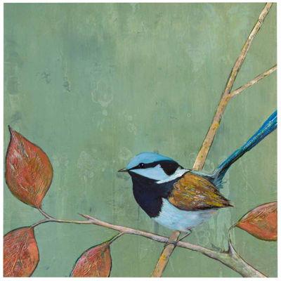 Resting Bird I Canvas Wall Art