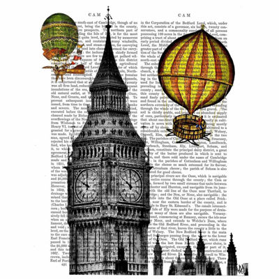 Big Ben Canvas Wall Art