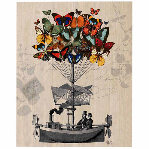 Butterfly adventures Canvas Wall Art