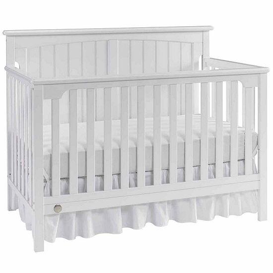 Fisher Price Colton Convertible Crib White