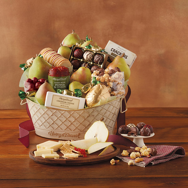 Harry and David Deluxe Favorites Gift Basket