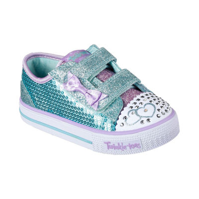 Skechers® Shuffles Itsy Bitsy Girls Shoes - Toddler