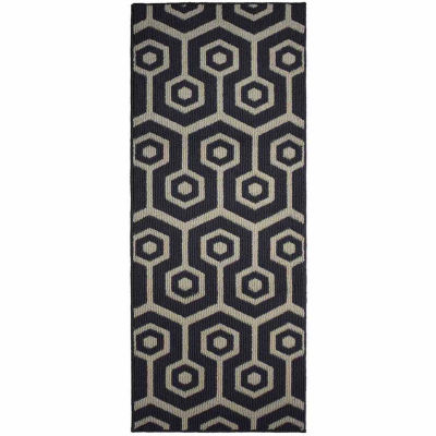 Jean Pierre All Loop Honeycomb Decorative TexturedRectangular Accent Rug
