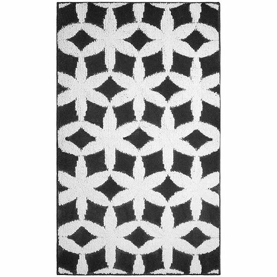 Jean Pierre Cut and Loop Alessandra Textured Decorative Rectangular Accent Rug