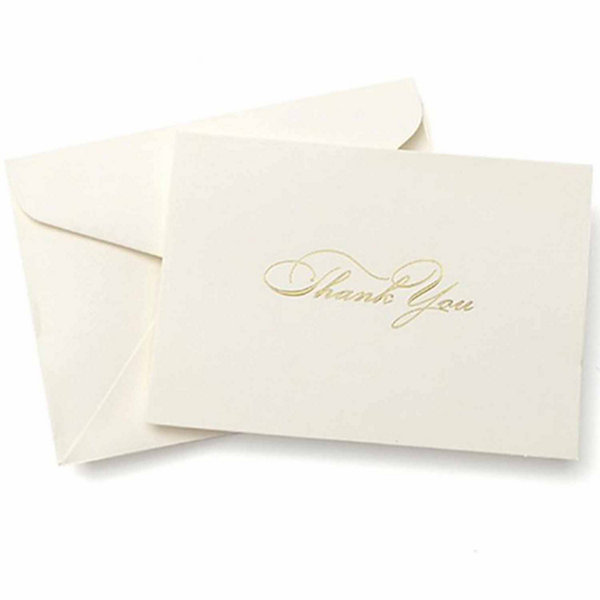 Gartner Studios Gold Foil Thank You Cards