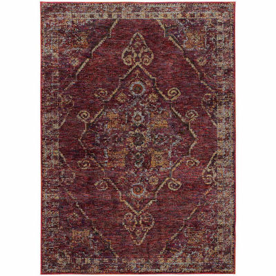 Covington Home Aurora Medallion Rectangular Rugs