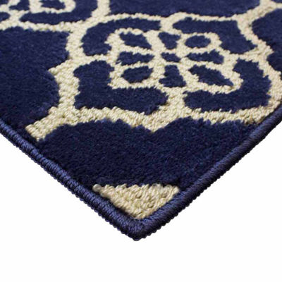 Jean Pierre Cut and Loop Meeko Textured DecorativeRectangular Accent Rug