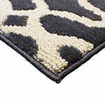 Jean Pierre Cut and Loop Mozart Textured Decorative Rectangular Accent Rug