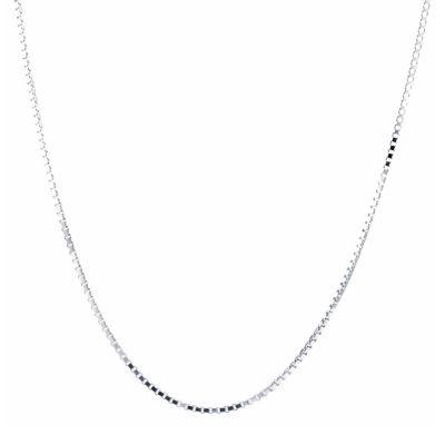 Silver Treasures 30 Inch Chain Necklace