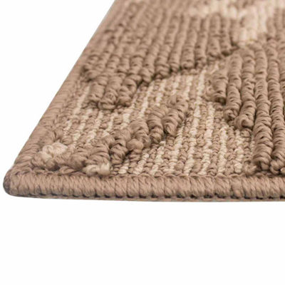 Jean Pierre All Loop Kimmy Decorative Textured Rectangular Accent Rug