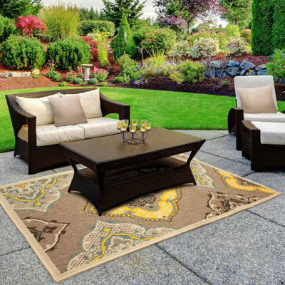 Laura Ashley Allie Indoor/Outdoor Rectangular Accent Rug
