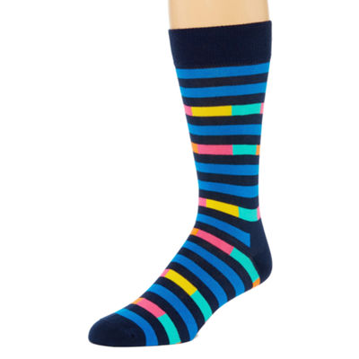 HS By Happy Socks Hs By Happy Socks 1 Pair Crew Socks-Mens