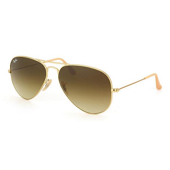Ray-Ban Sunglasses - Rb3025 Aviator Large Metal /Frame: Matte Gold ...