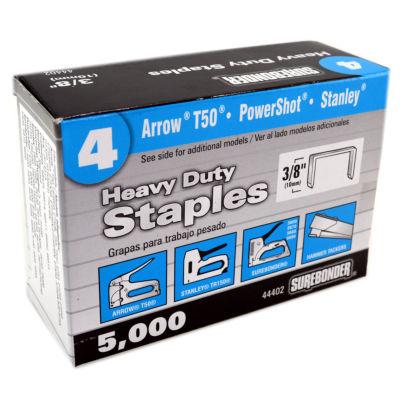 Fpc Surebonder 44402 3/8IN Steel Staples 5000 Count