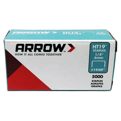 "Arrow Fastener 194Ip 1/4"" Ht19 Staples"""