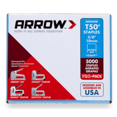 Arrow Fastener 306Ip 3/8IN T30 Staples
