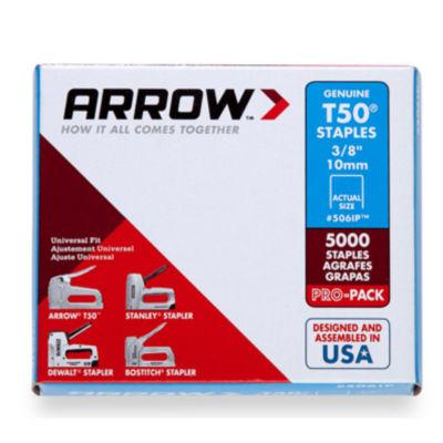 Arrow Fastener 506Ip 3/8IN T50 Staples