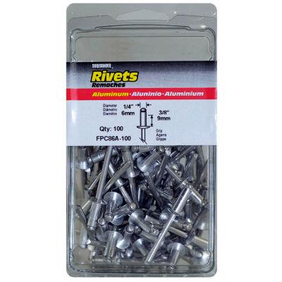 Fpc Surebonder Fpc86A-100 1/4IN X 3/8IN Aluminum Rivets 100 Count