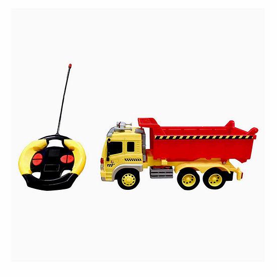 Playtek 116 Scale Remote Control Construction Dump Truck