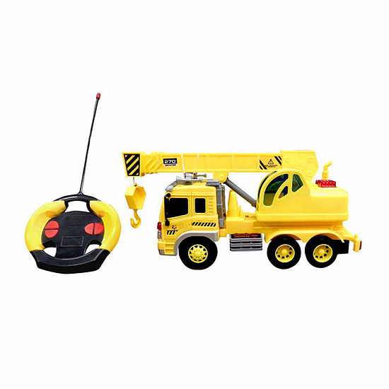 Playtek - 1:16 Scale Remote Control Construction Truck Crane