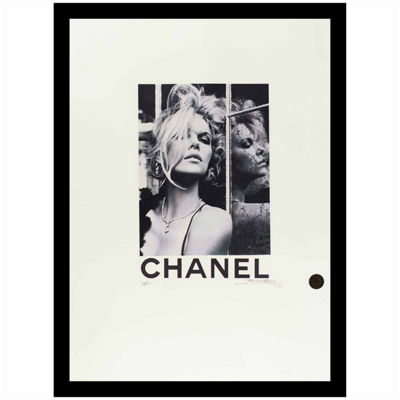 Fairchild Paris Chanel Charlize Theron Framed Wall Art