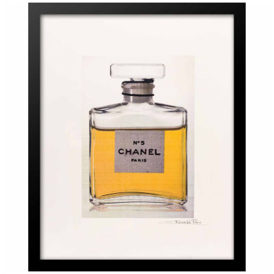 Fairchild Paris Chanel No. 5 Classic Bottle (603) Framed Wall Art