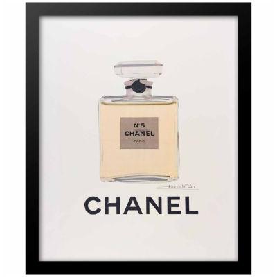 Fairchild Paris Chanel No. 5 Classic Bottle (604) Framed Wall Art